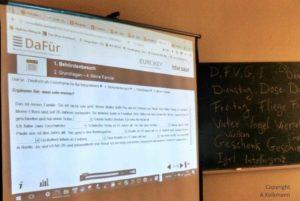 Die Flüchtlingshilfe Idstein e.V. unterstützt E-Learning